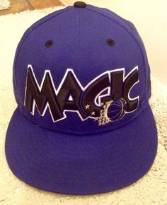 1fc431e4721 Orlando Magic New Era 9fifty HWC Snapback Hat EUC NBA in Sports Mem
