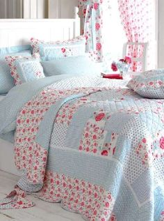 Love this bed linen