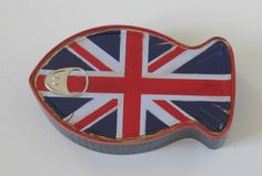 fish shaped union jack can