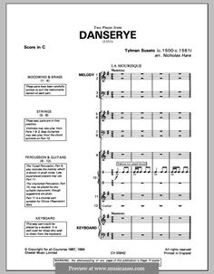 La Mourisque and Ronde (from Danserye) by T. Susato on MusicaNeo Printable Sheet Music, Digital Sheet Music, Positivity, Optimism