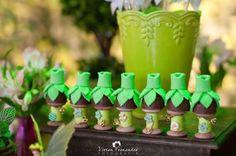 Thistle Favors from a Tinkerbell Fairy Garden Birthday Party via Kara's Party Ideas KarasPartyIdeas.com (13)