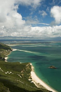 Setubal Bay, with it's unexplored beaches #Portugal