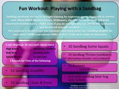 Sandbag in the Sun Fun!
