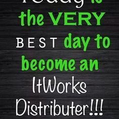 It will change your life! It Works Global is a multi level marketing firm with an awesome compensation plan! If you want to be a stay at home mom, have always wanted to own your own business, or tired of making someone else's dream come true, call me! 318-413-4235 Patrice W. Find me on Face book: Patrice Whitley Or email: psold4jc@aol.com