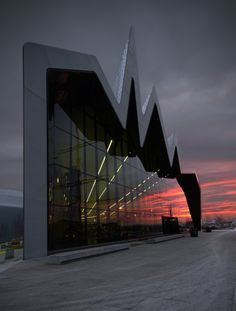 Riverside Museum by Martin Currie in Scotland