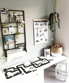 poster via www. rek via xenos - Ikea Hack Kids Bedroom, Kids Bedroom Boys, Boy Room, Play Corner, Kids Corner, White Kids Room, Modern Playroom, Student Room, Kidsroom