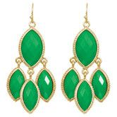 Eleanor Earrings in Kelly Green