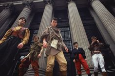 An early promotion photo.  #spandauballet #80s