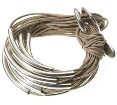 Original Multi Tubes Bracelet available from Orit London