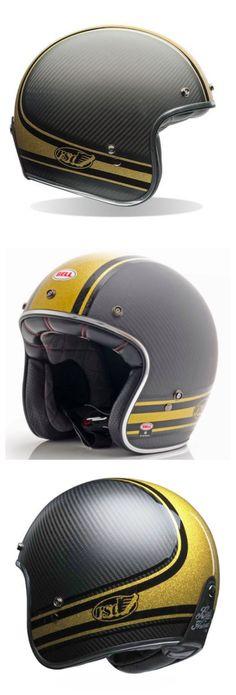 Bell Custom 500 Carbon RSD Bomb Helmets Tall