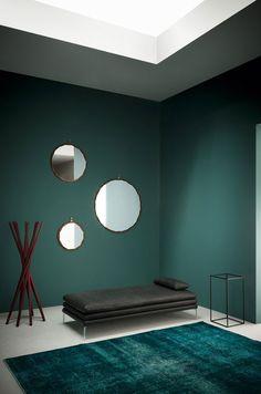 Decorative mirrors for your home, Raperonzolo mirror, Atelier Oï, Zanotta, 2015