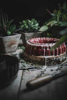 Local Milk | Valentine's Day Cake: All Natural Red Velvet Beet Cake + Goat Cheese Thyme Icing