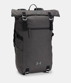 Under Armour SC30 Signature Rolltop Backpack   Black Full Heather Cycling  Backpack, Rucksack Backpack, d835766ba2
