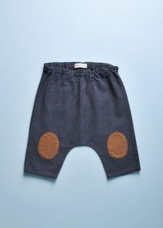 MINI KNEE PATCH TROUSERS
