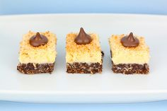 Chocolate Coconut Cheesecake Bars