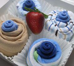 Original Triple Delight Cupcake SetTM  Onesies by BabySweetTreats, $30.00