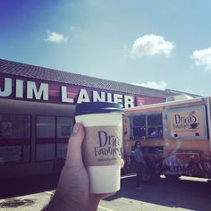 Kudos to Jim Lanier @statefarm for picking up the tab on some @dricascoffee It's great #business and great #coffee! #youreingoodhands #swanbrewing #lovelakeland #lkld #buylocal