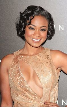 Tatyana Ali crops her curls keeping them healthy and shinier than ever!