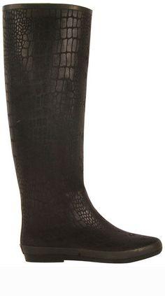 Festival Snake Black Rain Boot Snake Boots 926ef40cd0015