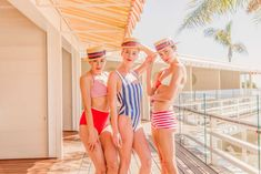 Retro Swimwear Inspired by Gray Malin at the Coral Casino | Gray Malin