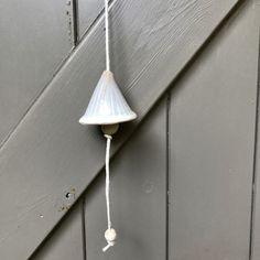 Blij om dit item uit mijn #etsy shop te delen: Aunique handmade ceramic bell, making a bright sound. Artisan wallhanging. Ceiling Lights, Bright, Ceramics, Pendant, Etsy, Vintage, Home Decor, Ceramica, Pottery