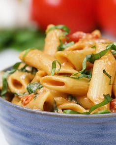 Creamy Dairy-free One Pot Pasta Recipe by Tasty