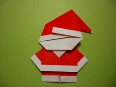 Parenting Times: Origami Santa Claus Craft For Kids - 3d Christmas, Christmas Origami, Father Christmas, All Things Christmas, Christmas Decorations, Xmas, Holiday Crafts, Fun Crafts, Crafts For Kids