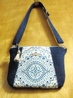 Denim Shoulder Bag Denim Shoulder Bags, Beaded Bags, Hand Bags, Scarf Wrap, Messenger Bag, Purses And Bags, Scarves, Satchel, Wraps