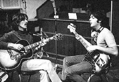 George y Paul en 1968