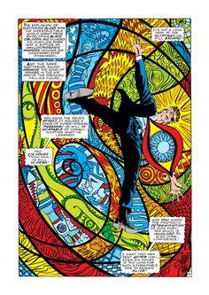 Art from Comic Artist Jim Steranko
