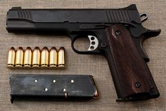 Colt 1911 - The only pistol you'll ever need! Weapons Guns, Guns And Ammo, Colt M1911, Revolvers, Kimber 1911, Kimber 45, 1911 Pistol, Fire Powers, Cool Guns