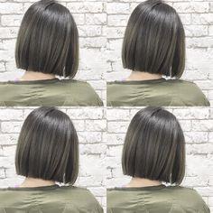 Pin by เจมส์ on นักเรียน in 2019 Korean Hair Color, Hair Color For Black Hair, Medium Hair Styles, Curly Hair Styles, Haircuts For Long Hair With Layers, Chin Length Hair, Natural Red Hair, Cabello Hair, Gorgeous Hair Color