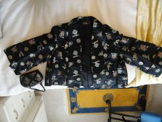 TRUE VINTAGE CHINESE SILK embroidered JACKET & BAG women's HONG KONG 1950s vgc | eBay