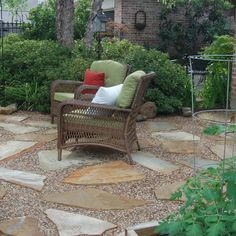 Patio Gravel Pea Design Ideas, Pictures, Remodel And Decor