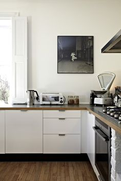 new & old kitchen appliances (via In London, Revisiting a...