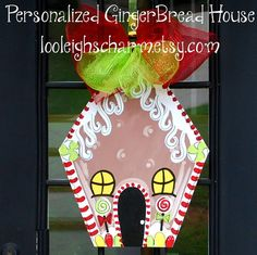 Hey, I found this really awesome Etsy listing at https://www.etsy.com/listing/107092387/christmas-door-hanger-gingerbread-house
