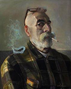John Byrne (Self Portrait)