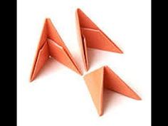 Как сделать модуль оригами Мастер класс для начинающих - YouTube