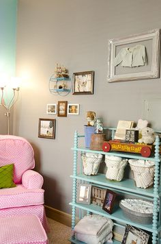 Whimsical Nursery with Carnival Details