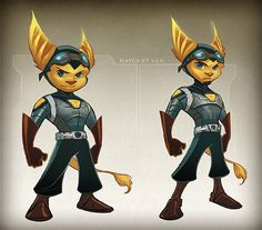 Ratchet and Clank Future - Ratchet's future concepts