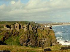 Dunluce Castle Nordirland