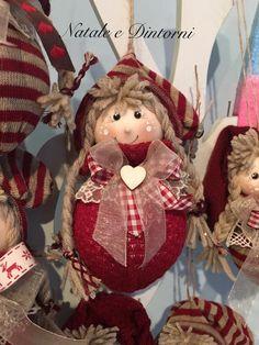… Christmas Angel Ornaments, Burlap Christmas, Christmas Sewing, Primitive Christmas, Christmas Art, Beautiful Christmas, Christmas Wreaths, Christmas Decorations, Christmas Craft Projects