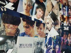BIGBANG Bigbang High definition Bromide Poster 12pcs Size of A4 Paper x 2 KPOP