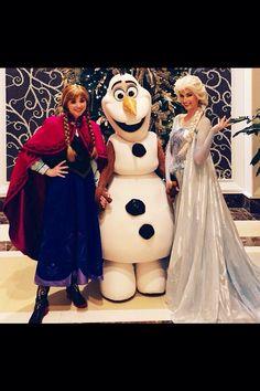 ❄️Anna, Olaf & Elsa❄️