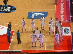 El equipo de Basket antes de presentarse
