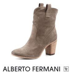 Alberto Fermani Chiara Suede Western Ankle Boot Alberto Fermani Chiara 100% Authentic Suede Western Ankle Boot. Light wear- has some scuff and marks but overall great condition. Heel is approx 2.5 inches. Love these with a sundress. Feel free to make an offer. Alberto Fermani Shoes Ankle Boots & Booties