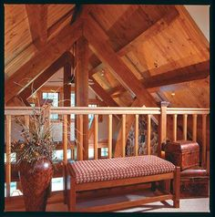 Unwind in the tranquility of the wilderness with a custom log home from Town+Country Cedar Homes. Cedar Door, Ceiling Beams, House Ceiling, Cedar Posts, Town And Country, Country Homes, White Cedar, Western Red Cedar, Home Pictures