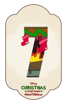 Click to learn how to create your own Disney Christmas Countdown calendar and share your DIY craft with #DaysTillDisney!
