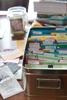 Organize that seed stash!