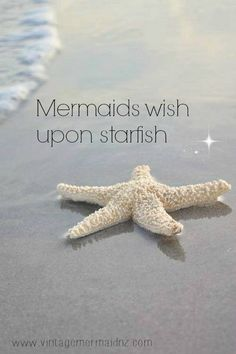 Mermaids wish upon a star